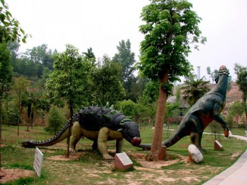 河南   西峡县  西峡恐龙遗迹园 - 海阔山遥 - .